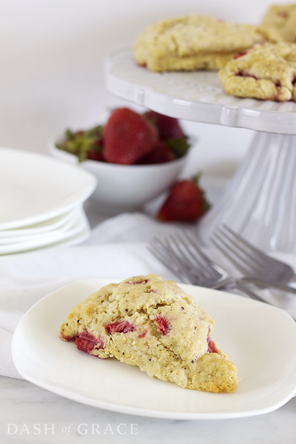 Strawberry Pepper Scones Recipe