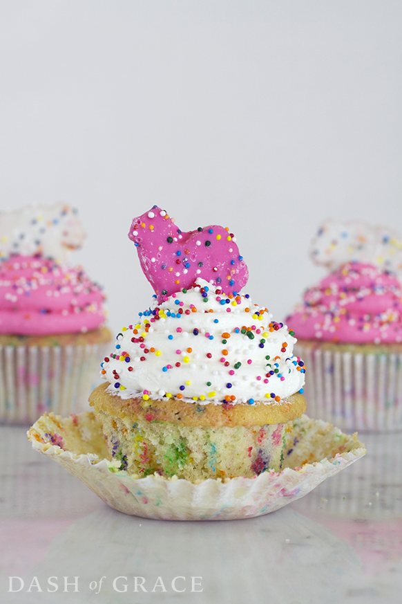 Circus Cookie Cupcakes Recipe