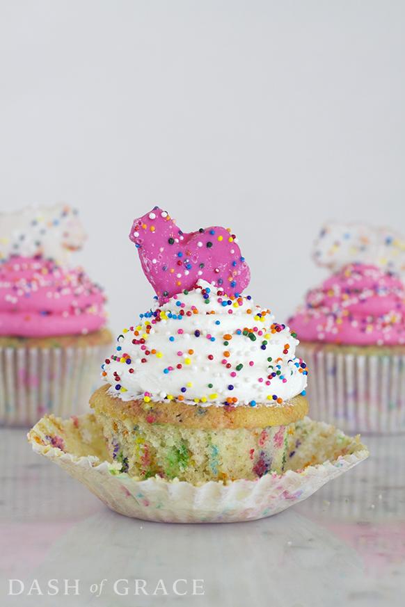 Circus Cookie Cupcakes Recipe