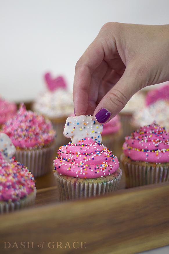 Circus Cookie Cupcakes Recipe 09