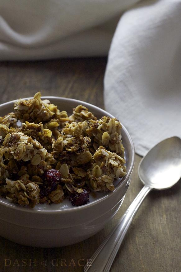 The Best Granola Recipe Nut Dairy Amp Egg Free