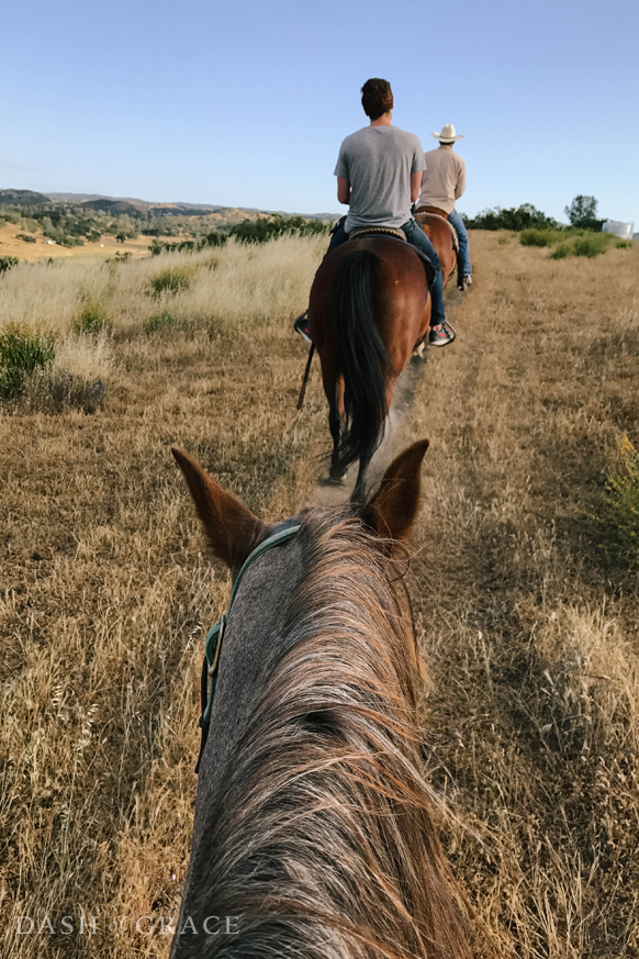 Central Coast Trail Ride in Creston, California